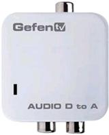 gefen digital audio to analog audio converter