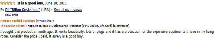 tripp lite tlp808 customer review 2
